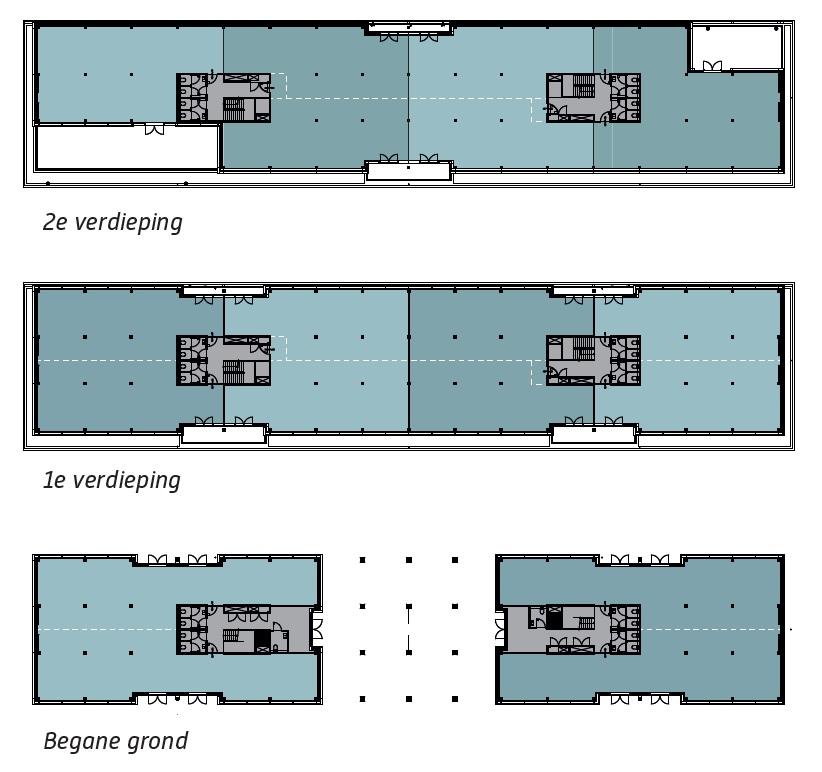 Plattegrond verdiepingen